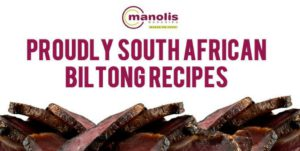 3 Great Biltong Recipes To Make At Home This Winter | Manolis Munchies