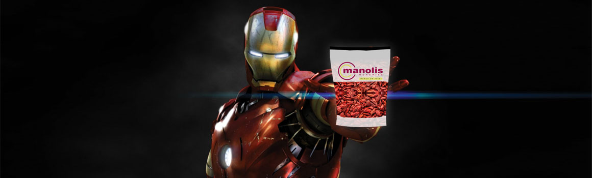 Iron Man Goji Berries