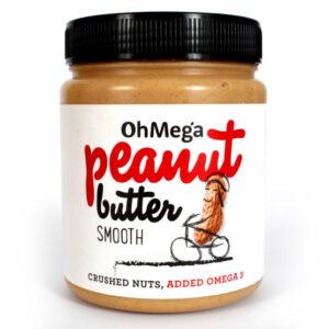 Ohmega Peanut Butter Smooth 1kg